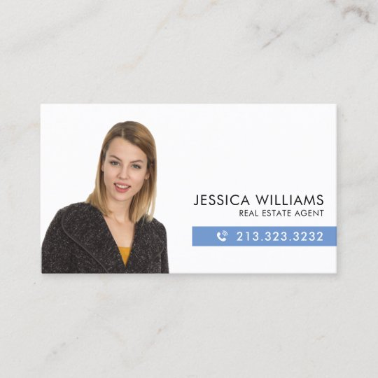 Professional Headshot Business Card