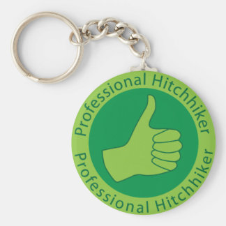 Professional hitchhiker keychains