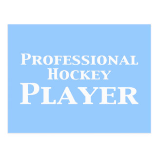 Professional Hockey Player Gifts Postcard