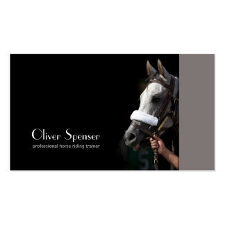 Professional Horseback Riding Trainer Card Business Card
