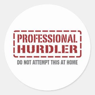 Professional Hurdler Stickers