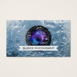 Professional Ice Cube Photography Business Card