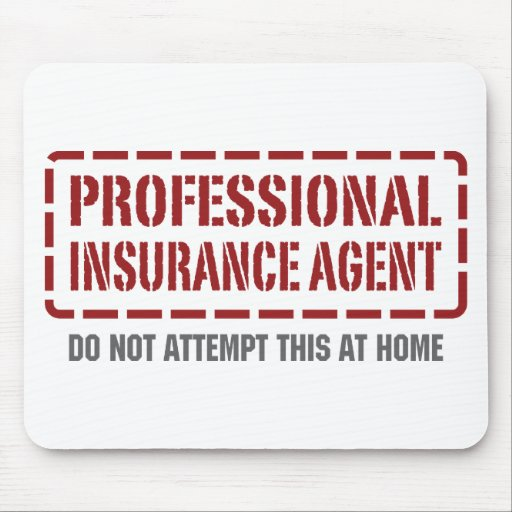 Professional Insurance Agent Mouse Pad
