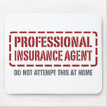 Professional Insurance Agent Mouse Pads
