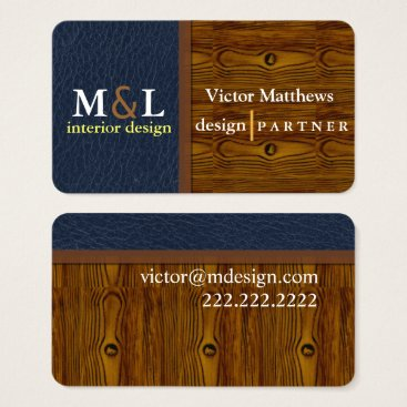 Lawyer Themed Professional interior design business card