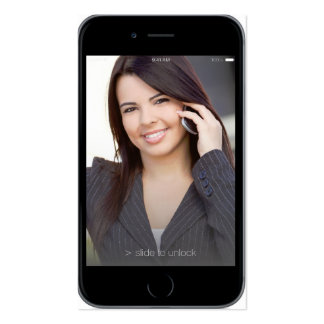 Professional iPhone 6 Business Card w Contact page