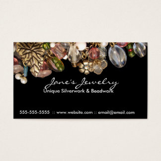 Professional Jewelry double sided Business Cards