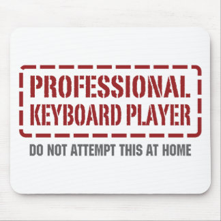 Professional Keyboard Player Mouse Mats