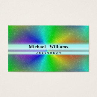 PROFESSIONAL LASER ILLUMINATION COLORFUL HOLOGRAM BUSINESS CARD