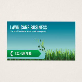 Lawn Care Service Business Cards Templates Zazzle