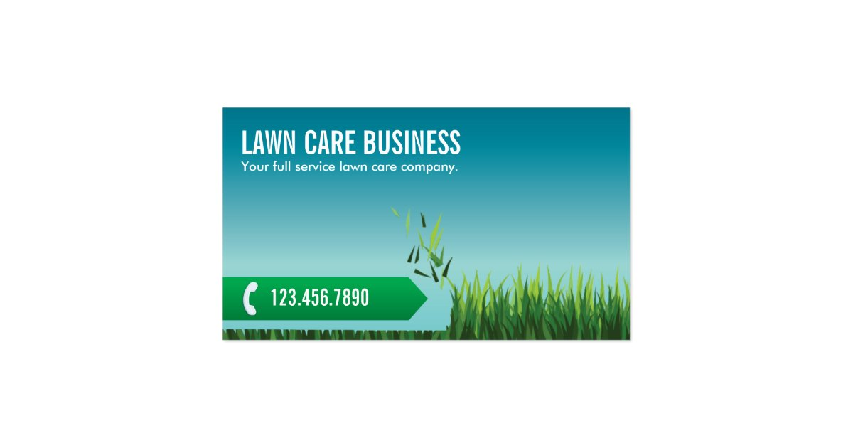 Lawn Care Business Cards Lawn Mowing With Lawn Care Of Garden ...