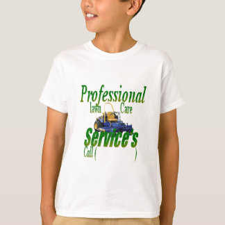 Professional lawn care services T-Shirt