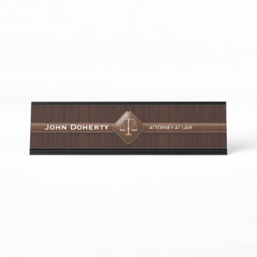 Professional Lawyer | ATTORNEY AT LAW Desk Name Plate