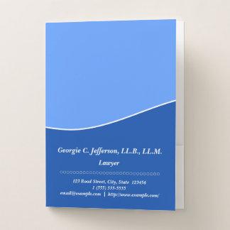 Professional Lawyer Pocket Folder