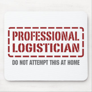Professional Logistician Mouse Pad