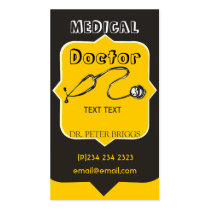 Professional-Looking Medical Doctor Double-Sided Standard Business Cards (Pack Of 100)