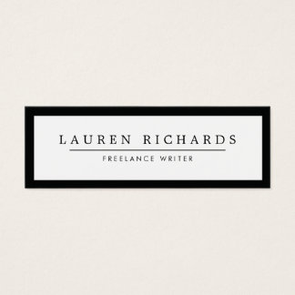 Mini Business Cards Templates Zazzle - Mini business card template