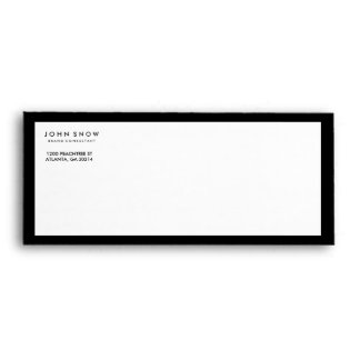 Professional Luxe Business Envelope