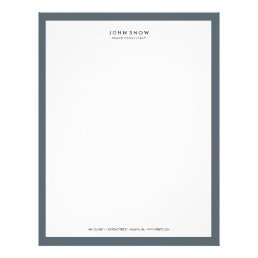 Professional Luxe Letterhead