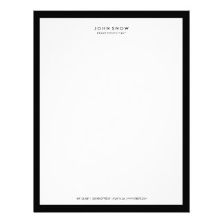Professional Luxe Letterhead