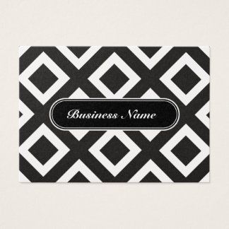 Professional Luxury Graphic Square Pattern Business Card