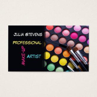 Professional Make-up Artist, Beauty Salon Card