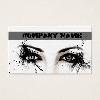 Professional Make-Up Artist / Makeup Model Face Business Card