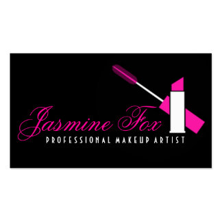 Professional Makeup Artist Cosmetologist Beauty Double-Sided Standard Business Cards (Pack Of 100)