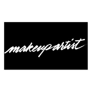 Make up brushes gifts on zazzle for Mua business cards