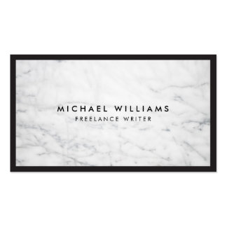 Professional Marble Business Card