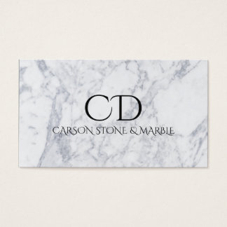 Professional Marble Stone Business Card