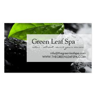 Professional Massage Spa Business Card