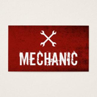 Professional Mechanic Automotive Business cards