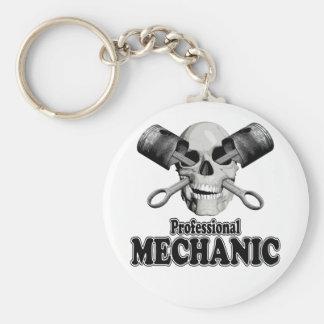 Professional Mechanic Keychain