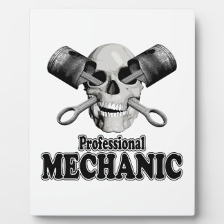 Professional Mechanic Photo Plaques