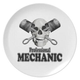 Professional Mechanic Dinner Plates