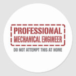 Professional Mechanical Engineer Stickers