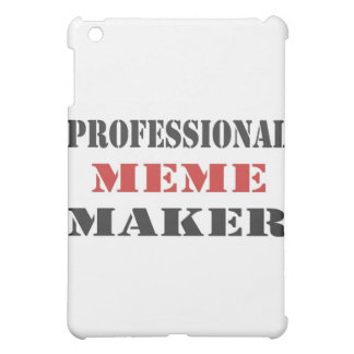Professional Meme Maker iPad Mini Cases