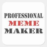 Professional Meme Maker Sticker