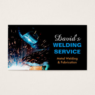 Contractor business cards templates zazzle professional metal welding fabrication contractor business card colourmoves Choice Image
