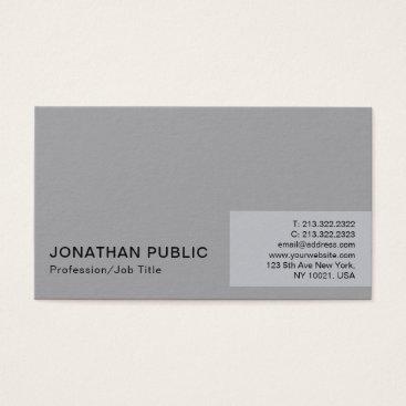 Lawyer Themed Professional Minimalistic Modern Elegant Plain Business Card