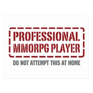 Professional MMORPG Player Postcard