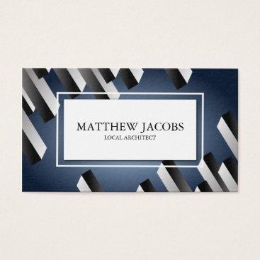 Professional Business Professional Modern Block Design Business Card