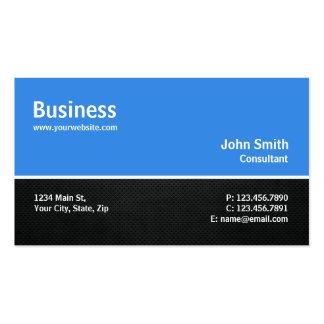 Professional Modern Computer Repair Blue Plain Business Card