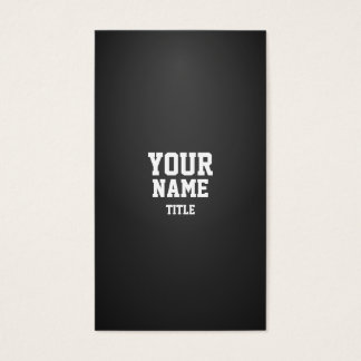 Professional Modern Dense Business Card