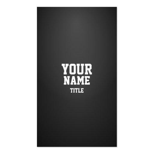 Professional Modern Dense Business Card Template