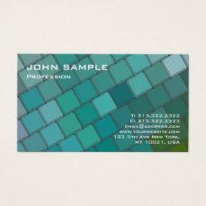 Professional Modern Design Creative Plain Business Card