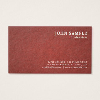 Professional Modern Design Graceful Classy DeLuxe Business Card