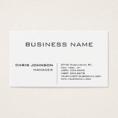 Professional Modern Elegant Minimalist Business Card at Zazzle