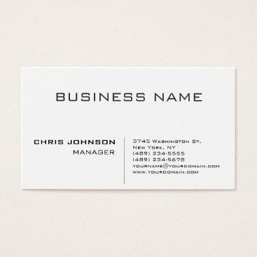 hizli_art Professional modern elegant minimalist business card